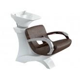 Измивна колона/стол мивка за фризьорски салон модел MASTER PRO
